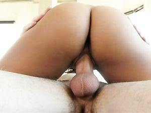 Masturbating Latina Would Rather Fuck A Hard Dick