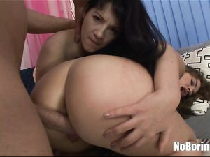 Toy Banging Babes Give A Nice Wet Double Blowjob