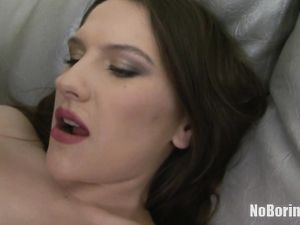 Teen Asshole Spreads Open Around A Massive Rubber Cock
