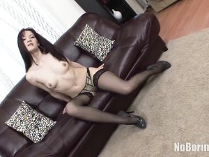 Cute And Slutty Teen Anally Reamed By A Big Dick