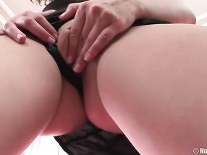 Curly Hair Temptress Wants A Dick Up Her Asshole