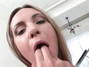 Schoolgirl Skirt On An Anal Double Penetration Girl