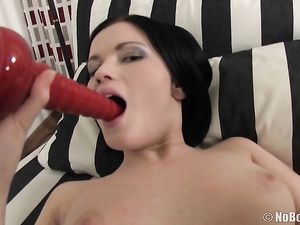 18 And Ready For Her First Anal Fucking On Camera