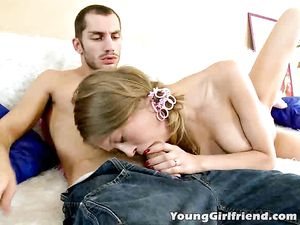 Rimmed Teen Returns The Favor With A Hot Blowjob