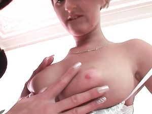 Big Perky Tits Turn On This Young Lesbian Babes