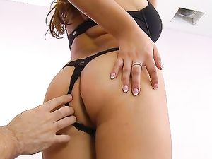Busty Stunner Eagerly Gives You A POV Blowjob