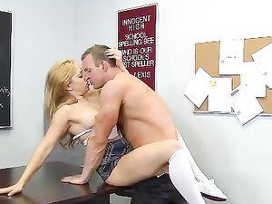 Lea Lexis Is The Schoolgirl Slut Of His Dreams