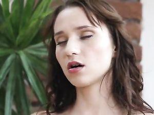 Porn Makes A Leggy Teen Babe Masturbate Erotically