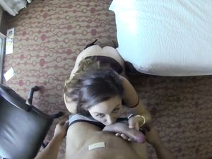 Young Hooker In A Slutty Dress Fucked In A Hotel