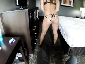 Curvy Ass Girl Rides A Hard Cock In A Pov