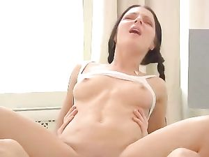 Seduction Of A Teenage Girl For Lusty Butt Fucking