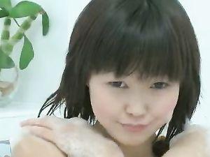 Asian Princess Taking A Bath And Masturbating