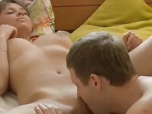 Delicious Little Pussy Gets Fucked After Sucking