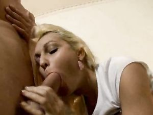 Anal Fingering And A Sloppy Blowjob With A Blonde