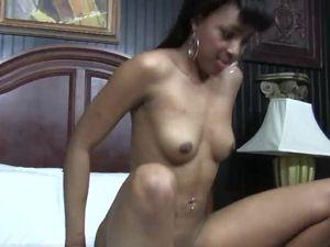 Cute Black Amateur Makes Her First Interracial Sex Video