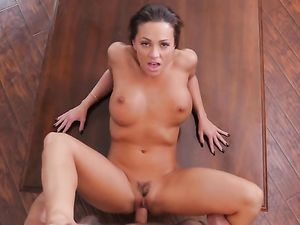 Abigail Needs A Break From Work To Love His Cock