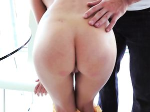 Cutie Covered In Honey And Fucked Hardcore
