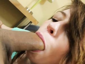 Gorgeous Naveen Ora Sucks Your Cock