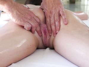 Leggy Bikini Girl Massaged And Fucked By Her BF
