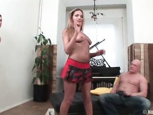 Anal DP Of The Young Teasing Cock Whore