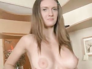 Babe Strips For Him And Bends Over For Good Fucking